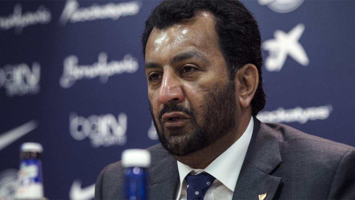 Al-Thani ukarany za obrazę Barcy