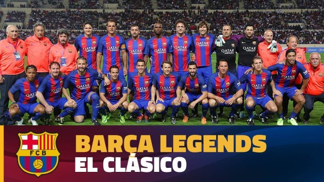 El Clasico Legend dla Barcy