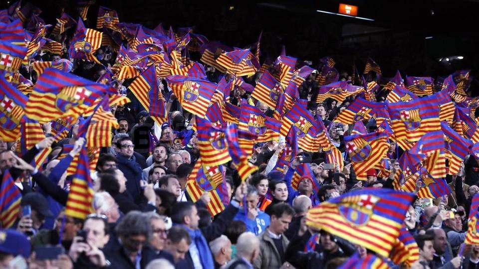 Camp Nou pożegnało mistrzów