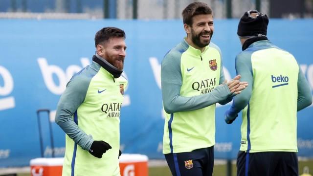 Messi i Pique wracaja na Sevillę