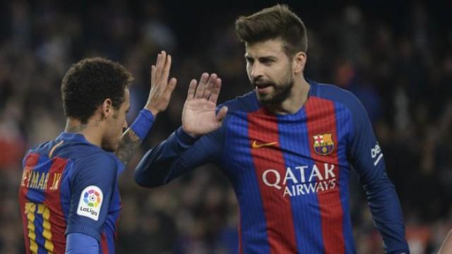 Pique, Rakitić i Neymar zagrożeni absencją w rewanżu