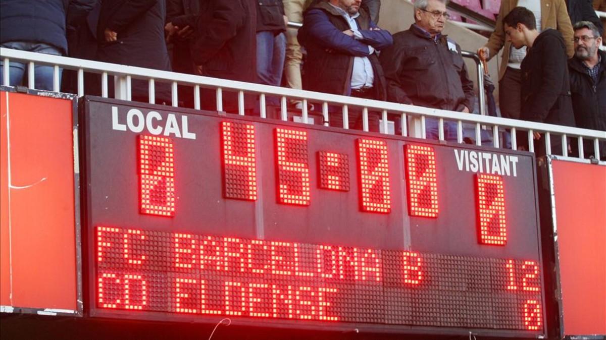 Mecz Barcy B został kupiony!?
