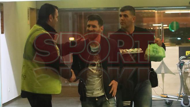 Messi odwiedził swojego dietetyka