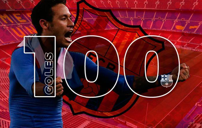 100 bramek Neymara