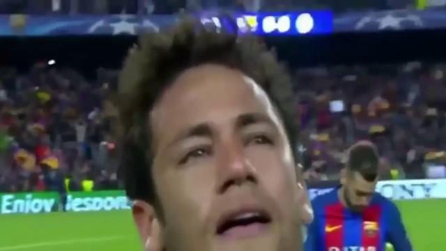 Neymar ze łzami w oczach