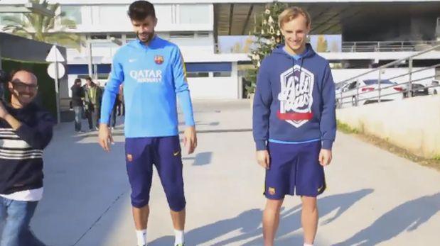 Pique i Rakitić zawieszeni