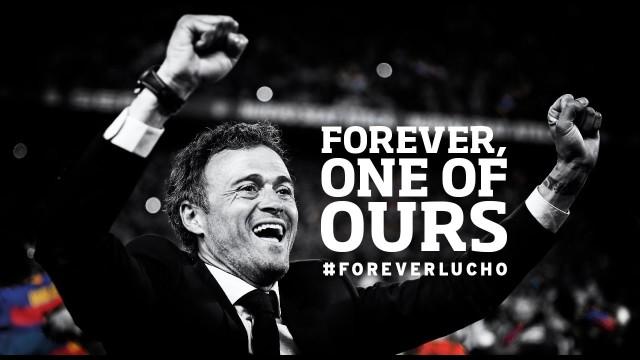 Klub i fani uhonorują Lucho