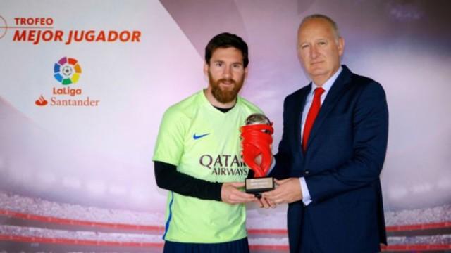 Messi piłkarzem miesiąca