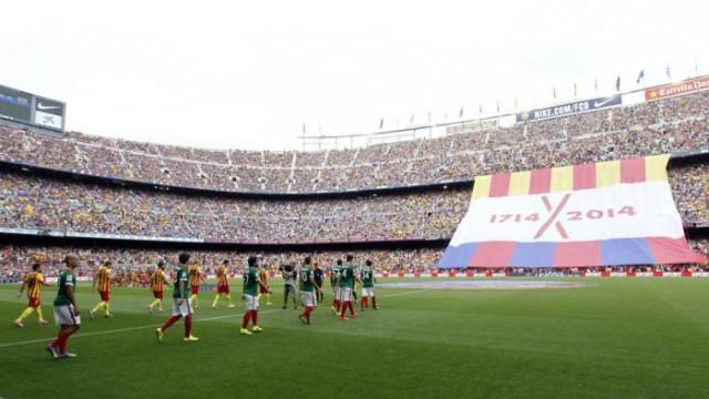 Klub chce niepodległości Katalonii