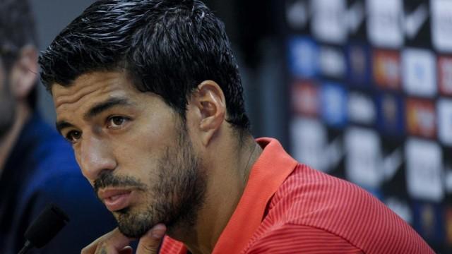 Luis Suarez kontuzjowany