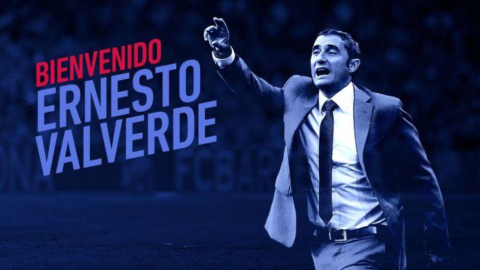 Oficjalnie: Valverde trenerem Barcy!