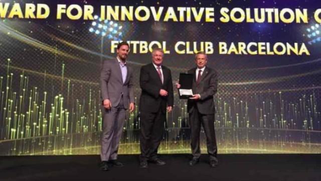Klub nagrodzony za Wi-Fi na Camp Nou
