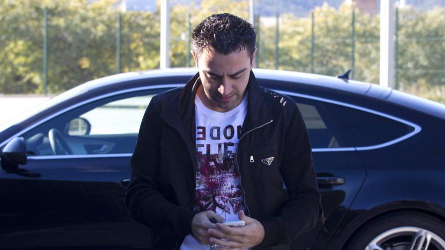 Barca kontaktowała się z Xavim