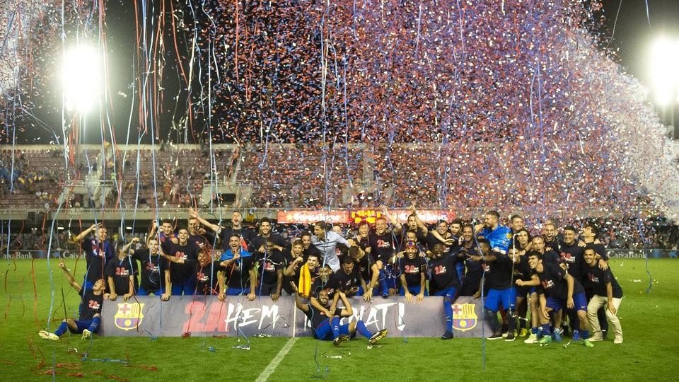 Barca B wraca do Segunda Division!