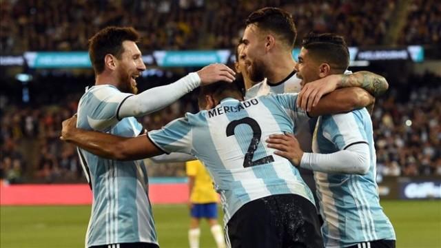 Argentyna wygrywa z Brazylią