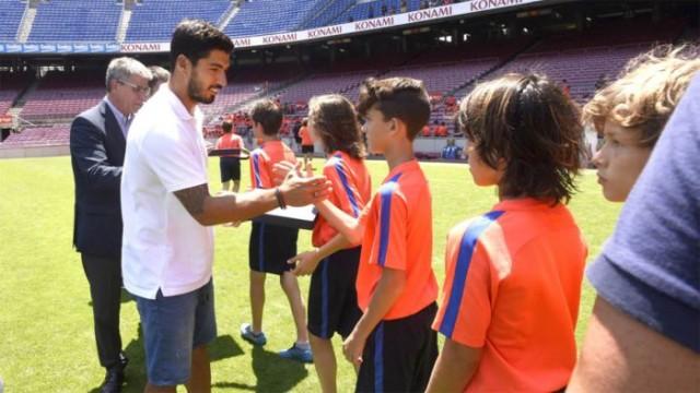 Suarez zakończył sezon FCBescoli