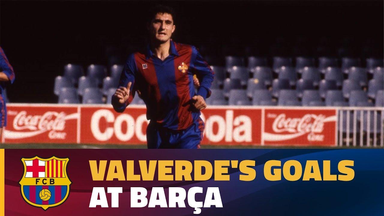Video: Bramki Valverde dla Barcy