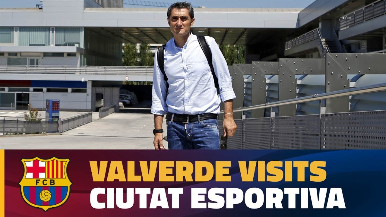 Video: Valverde poznaje swoje miejsce pracy