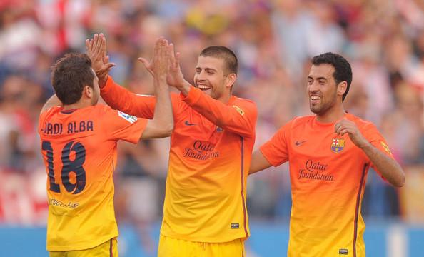 Pique, Sergio i Alba zagrają w Libanie