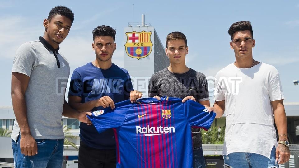 Oficjalnie: Pięć transferów Barcy B