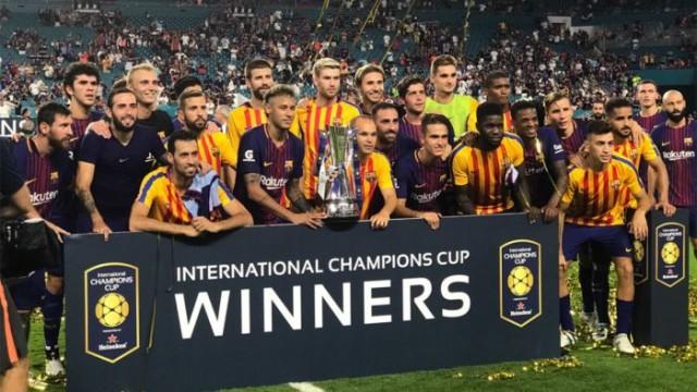 Barca wygrywa ICC