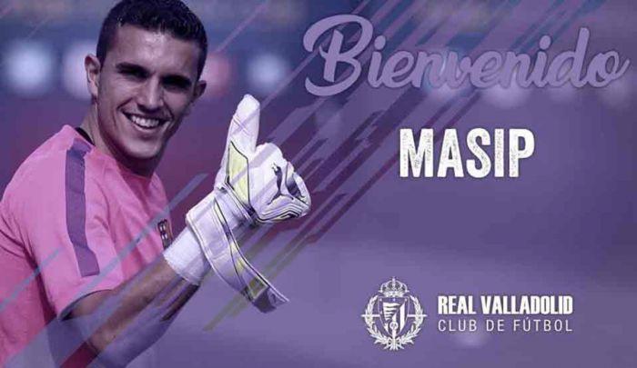 Oficjalnie: Masip w Valladolid