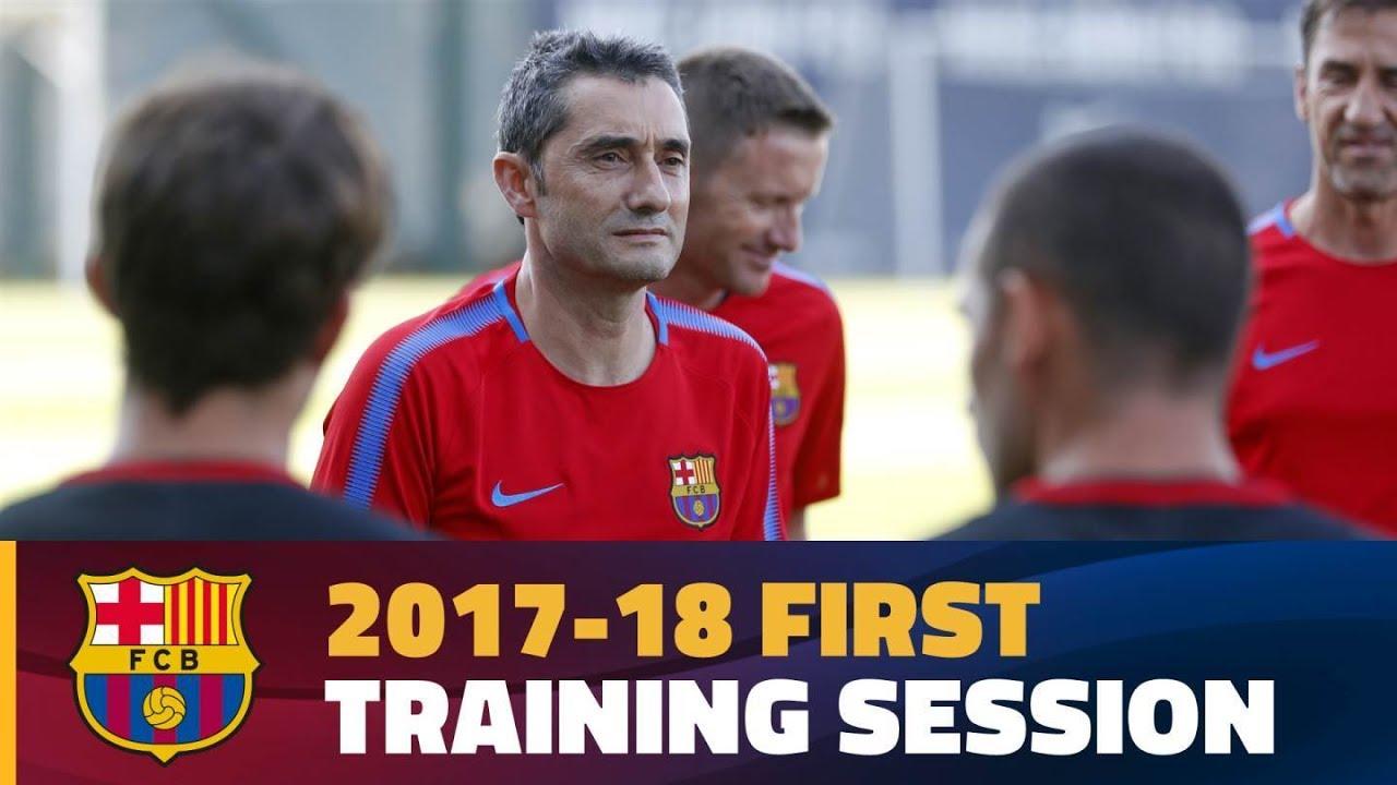 Pierwszy trening ery Valverde