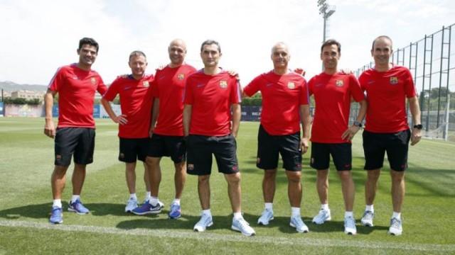 Valverde zaprezentował sztab