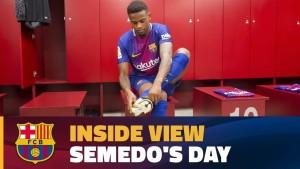 Video: 1 dzień Semedo w Barcelonie