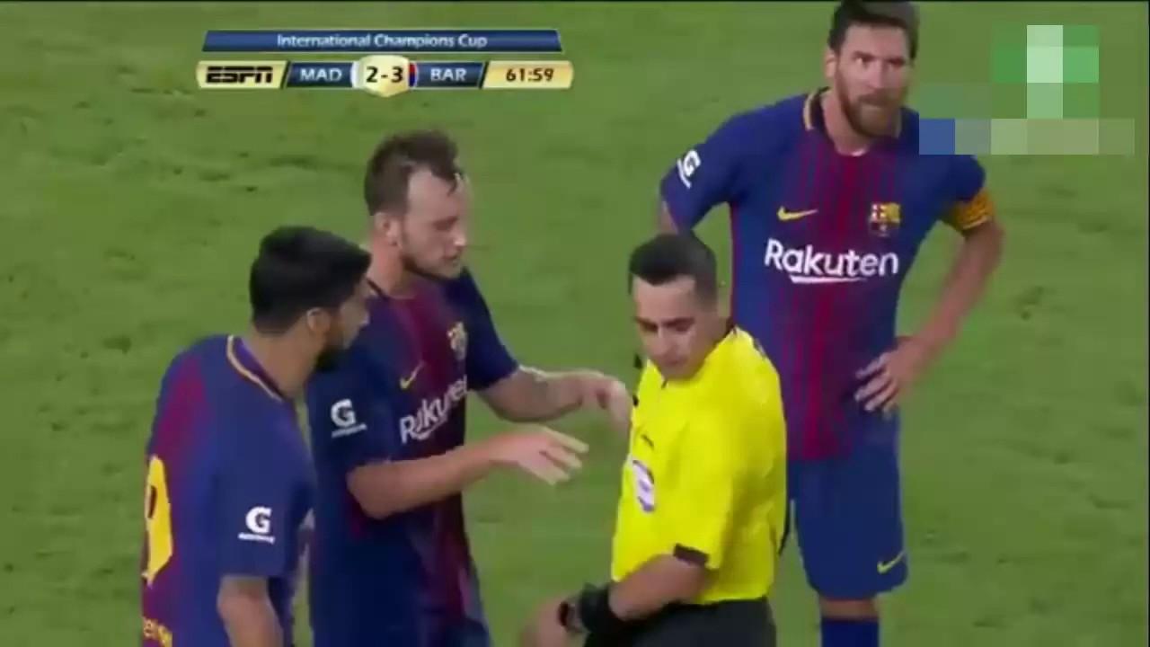 Video: Kłótnia Rakiticia z arbitrem