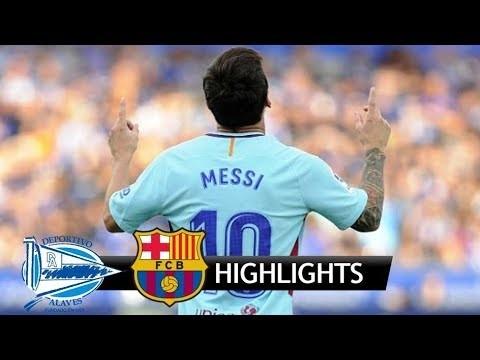 Alaves 0-2 Barcelona – skrót