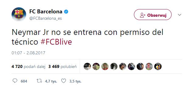Klub potwierdza transfer Neymara?!