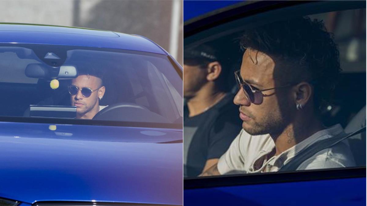 Neymar wraca i trenuje z zespołem