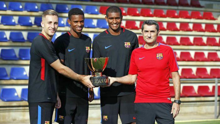 Barca gotowa na Puchar Gampera