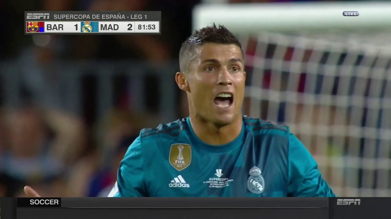 Ronaldo zawieszony na 5 spotkań