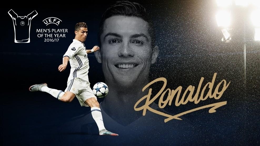 Ronaldo piłkarzem sezonu według UEFA