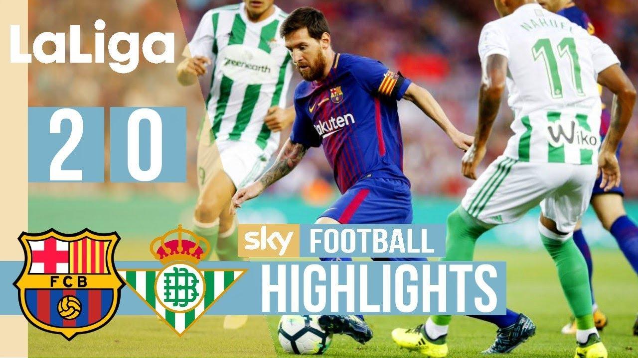 SKRÓT: FC Barcelona – Betis