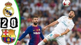 SKRÓT: Real Madryt – FC Barcelona