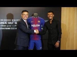Video: Pierwszy dzień Paulinho w Barcelonie