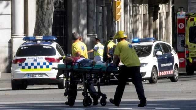 Tragiczny zamach w Barcelonie