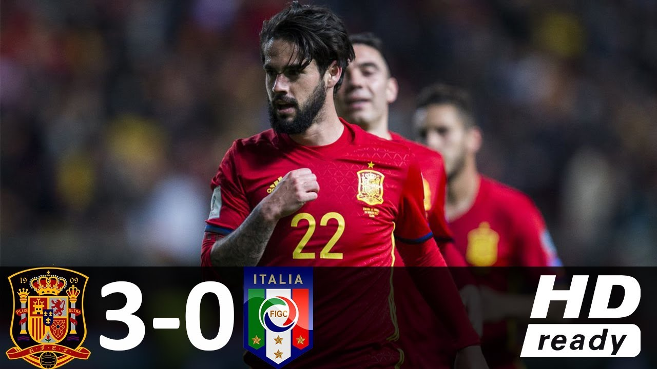 Hiszpania rozbiła Włochy 3-0