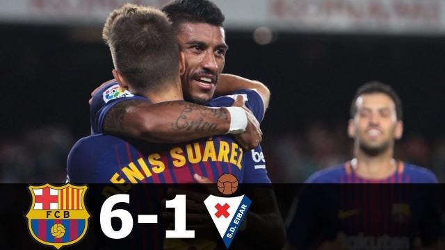 SKRÓT: FC Barcelona – Eibar