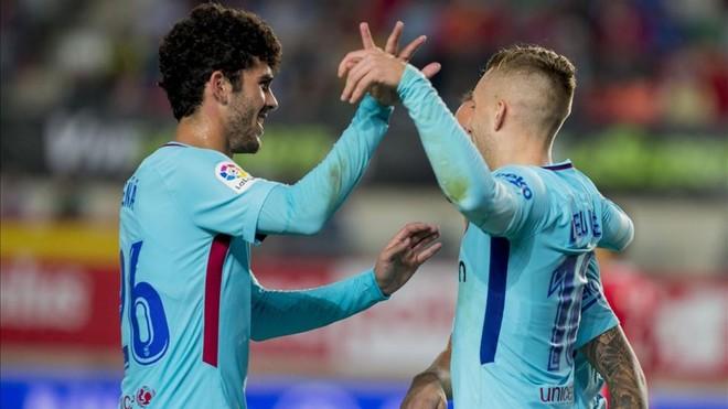 Skrót: Pewna wygrana Barcy