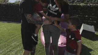 Leo Messi ojcem po raz trzeci