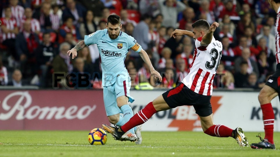 Messi nigdy nie przegrał z Bilbao