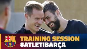 Ter Stegen i Pique wracaja do treningów