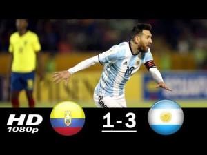 Wideo: Wspaniały Messi, Argentyna jedzie do Rosji!