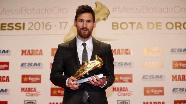 Messi odebrał Złotego Buta