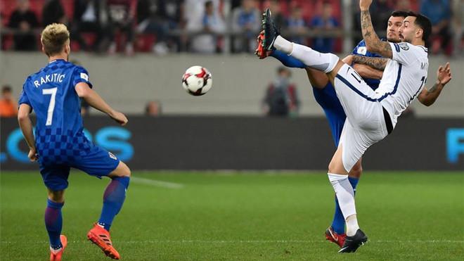 Chorwacja z awansem na Mundial