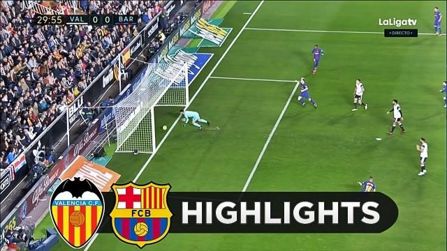 SKRÓT: Valencia – FC Barcelona
